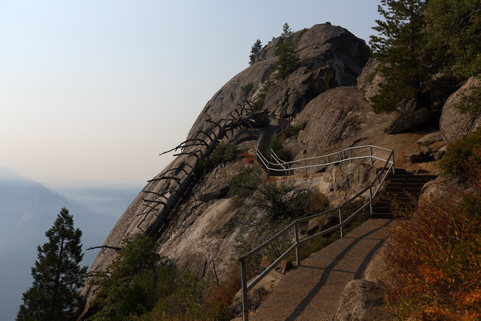 Moro Rock в национальном парке Секвойя