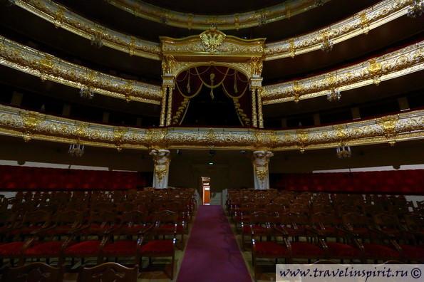 Главный зал в Большом театре